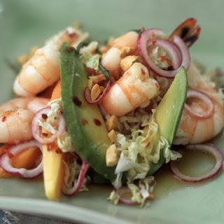 Prawn, Avocado and Peanut Salad