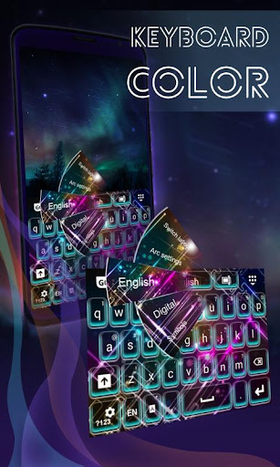 鍵盤和顏色