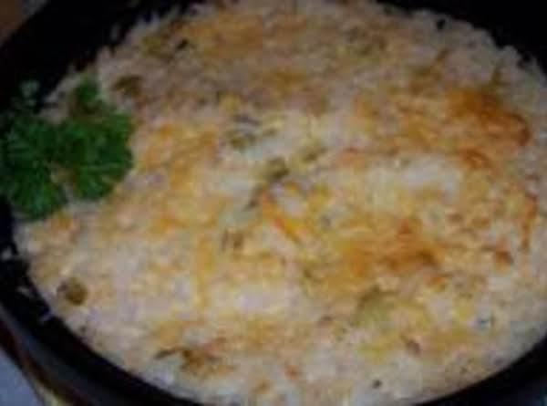 Hominy/green Chili Cheese Stuff
