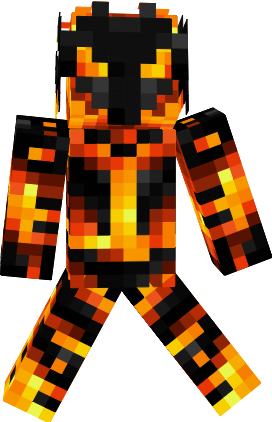Monster Fire Nova Skin - Monster skins fur minecraft