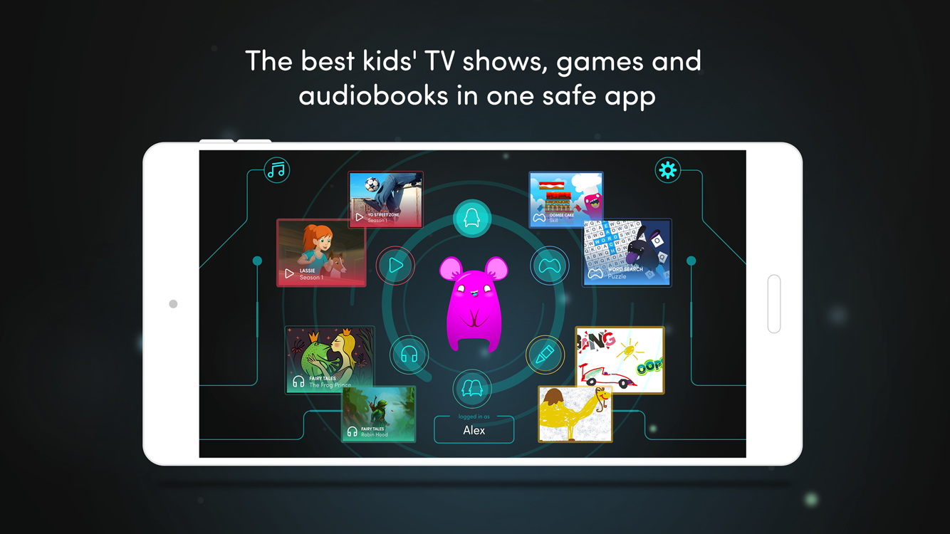 Azoomee: TV, games, audiobooks- screenshot