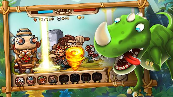 Caveman Vs Dino - náhled