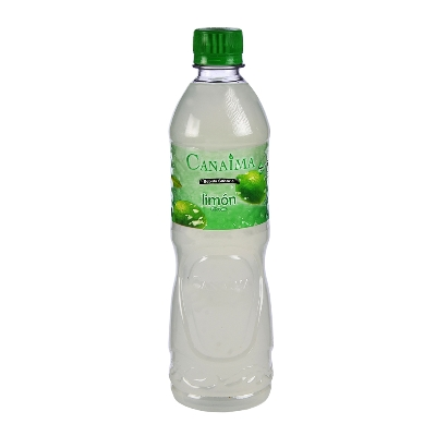agua canaima saborizada limon 600ml