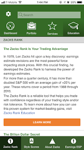 Zacks Stock Research- screenshot thumbnail