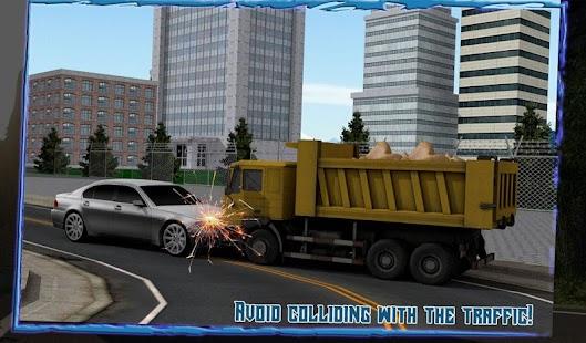 Transport-Truck-3D-River-Sand 14