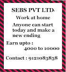 if you are getting bored in your free time then go for sebs