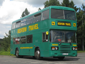 Photo: Not the Johnson's VR Running Day - 01/05/2010 Second Olympian of the day was WDL694Y which took us on a lengthy tour of the area. The former Southern Vectis machine is seen posed at the first photo stop.