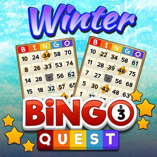 Bingo Quest Winter Wonderland Garden