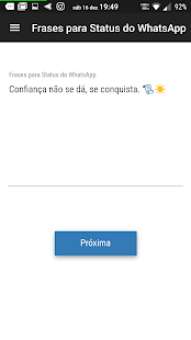 Frases para Status do WhatsApp ? - náhled