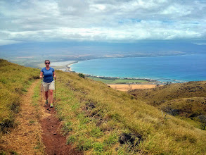 Photo: Going for a walk in Maui