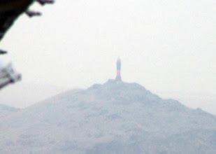 Photo: Morro Carretas (Salaverry) in morning mist
