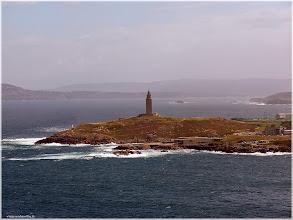 Photo: Torre de Hércules. La Coruña  http://www.viajesenfamilia.it/