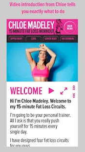 Chloe Madeley 15 Min Fat Loss- screenshot thumbnail