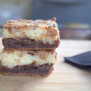 Day 330 – Cream Cheese Brownies with Peanut Butter Chips.