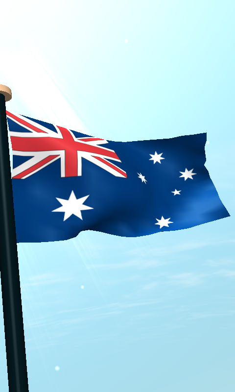 Скриншот Австралия Флаг 3D Бесплатных