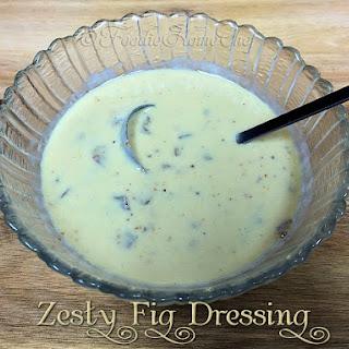 Zesty Fig Dressing