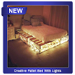 Creative Pallet Bed With Lights APK