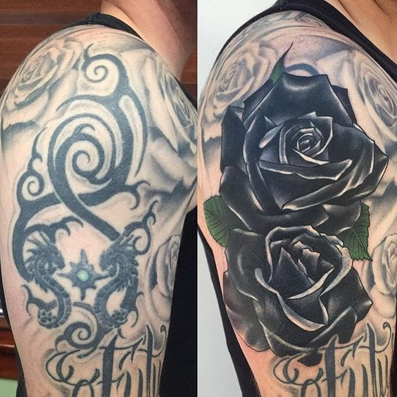 60 Amazing Cover Up Tattoos Pictures Before And After You Wont