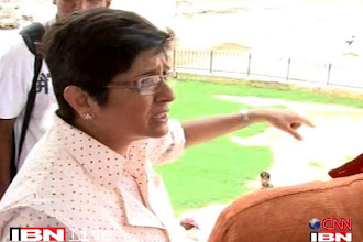 Photo: Target only Congress, not the BJP: Kiran Bedi http://t.in.com/5ryo