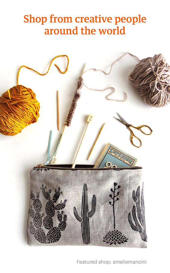 Etsy: Handmade & Vintage Goods- screenshot