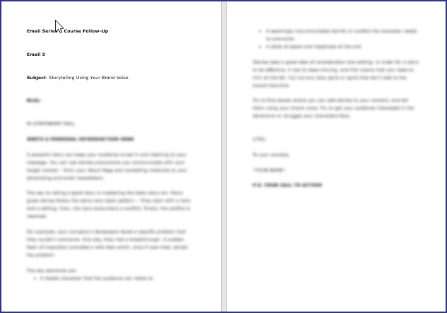 Expressing Your Brand Voice - Course Follow Up Email 5