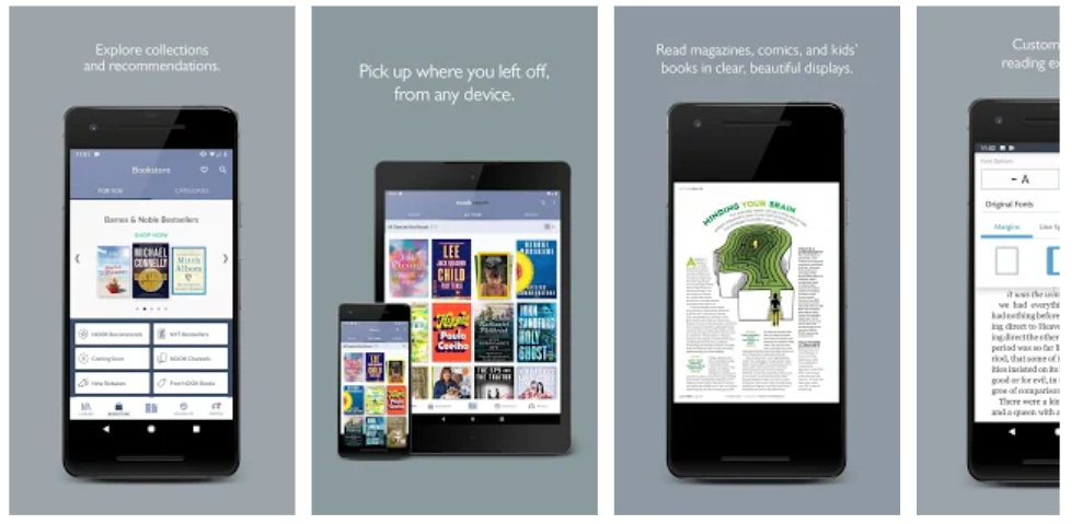 Top 3 eBook Apps To Get Millions Of Books To Read