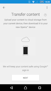Xperia™ Transfer Mobile v2.2.A.2.2