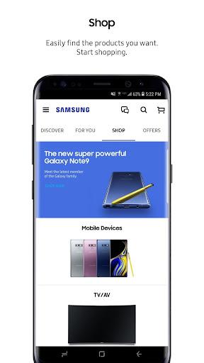 Samsung Shop screenshots 6