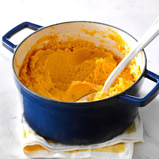 Pumpkin & Cauliflower Garlic Mash Recipe
