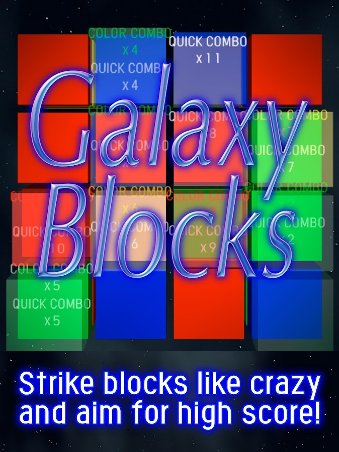 Galaxy Blocks- screenshot