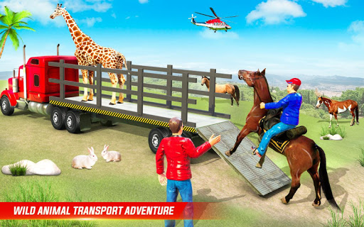 Farm Animal Transport Truck Driving Simulator  screenshots 6