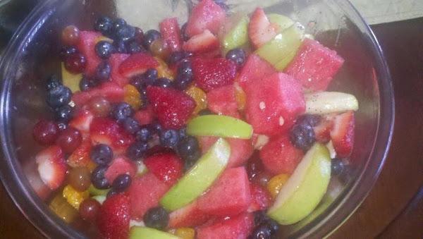 Poppyseed Fruit Salad Recipe