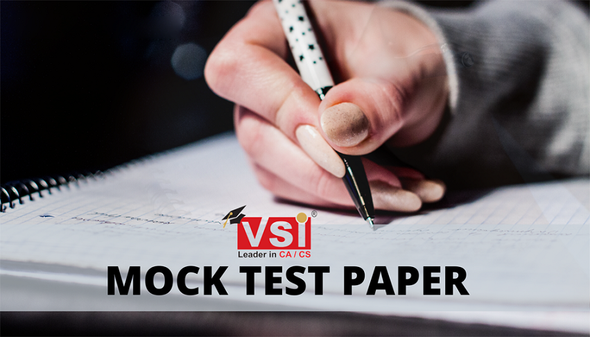 Mock Test Papers are conducted regularly