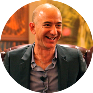 Jeff Bezos from Wikimedia