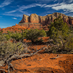 Sedona by George Nichols - Landscapes Mountains & Hills (  )