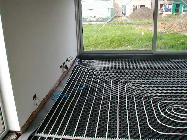 Vloer-en muurverwarming