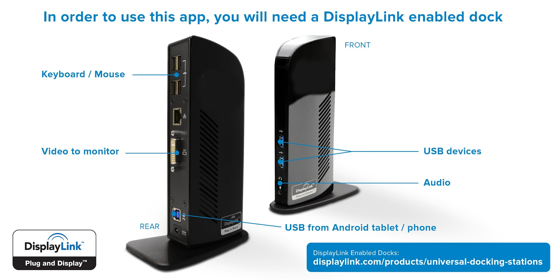 DisplayLink Presenter- screenshot
