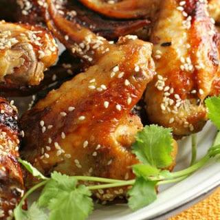 Sesame Chicken Wings.
