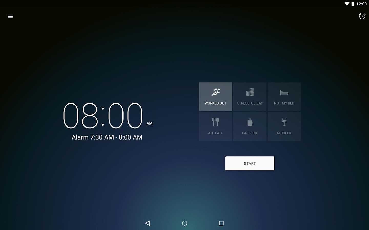 Runtastic Sleep Better: Sleep Cycle & Smart Alarm- screenshot