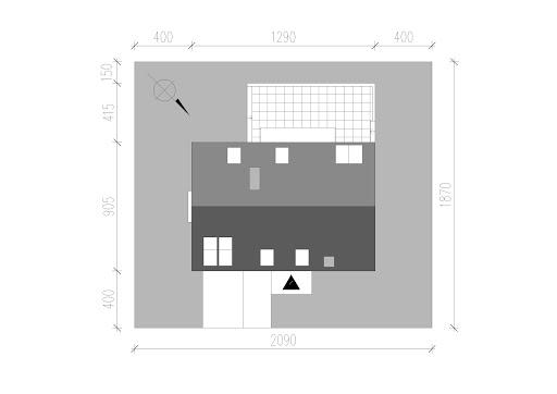 LIM House 03 - Sytuacja