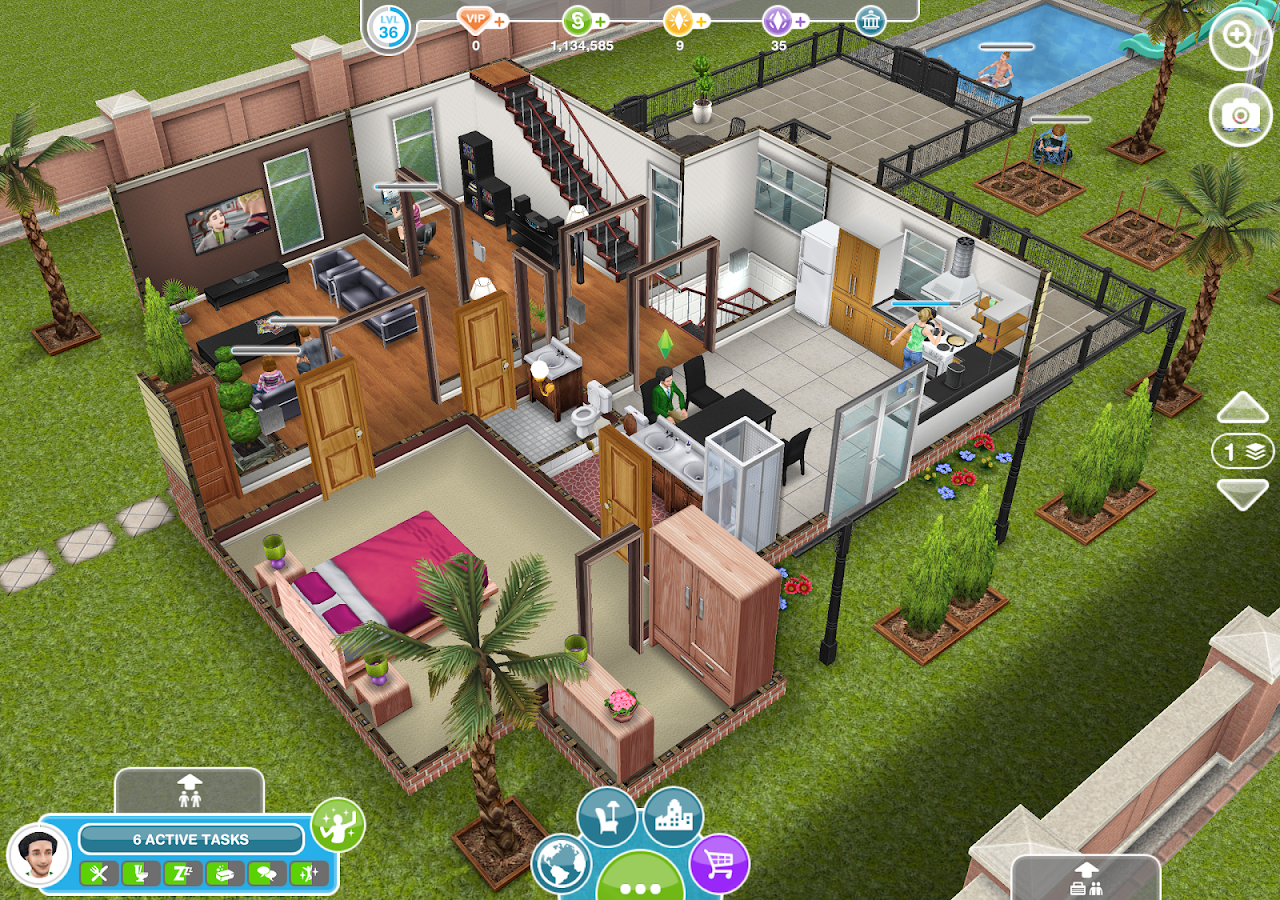 The Sims™ FreePlay: captura de tela