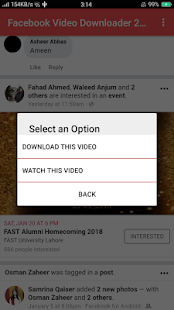 Facebook Video Downloader 2018 - náhled