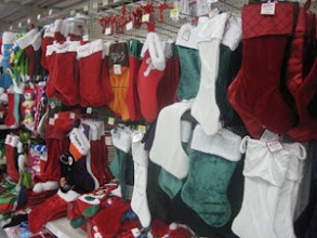Photo: So many stockings to choose from!