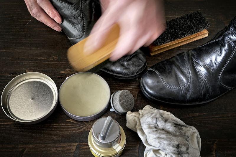Zo poets je schoenen