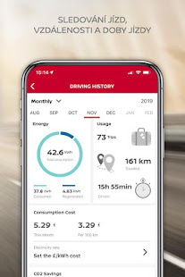 NissanConnect Services - náhled