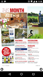 Canal Boat Magazine screenshot 1