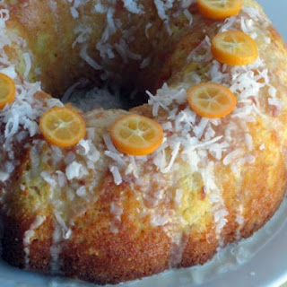 Citrus Coconut Milk Cake