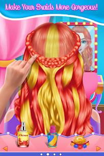 Fashion Braid Hairstyles Salon-girls games 9.0.4 Mod APK Updated Android 2