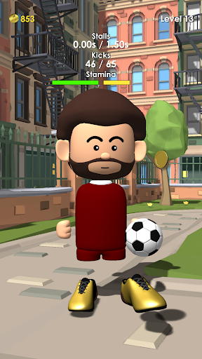 The Real Juggle - Pro Freestyle Soccer 1.2.1 screenshots 1
