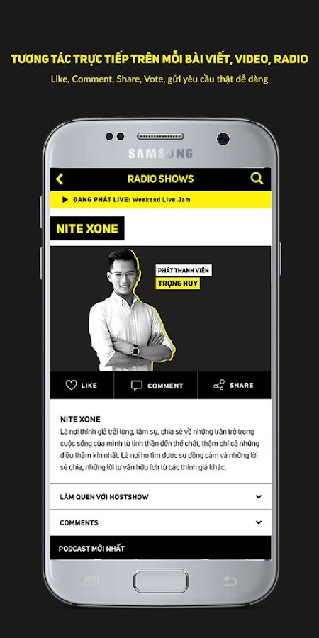 Xone FM- screenshot